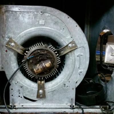 Sistema extracció fums